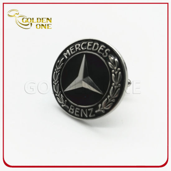 Custom High Quality 3D Car Logo Metal Cufflink