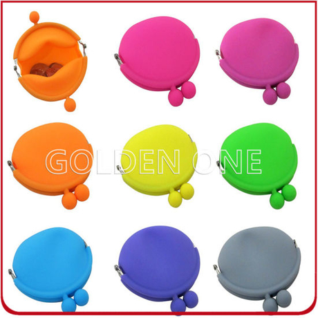 Hot Sale Plastic Promotional Gift Silicon Coin Purses