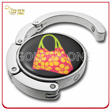 Factory Supply Epoxy Coating Folding Purse Hook with Gift