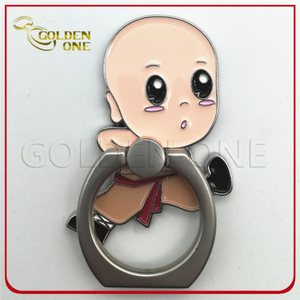 Cheap Custom Cute Design Metal Mobile Phone Ring Holder