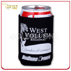 Promotion Gift Silk Screen Waterproof Stubby Can Cooler