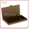 High Qulaity Business Metal Cover Leather Name Card Holder