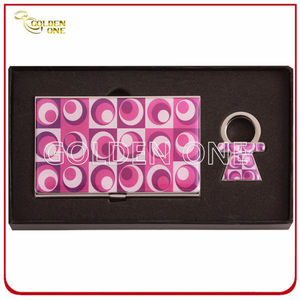 Novel Epoxy Coating Metal Card Case & Key Holder