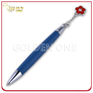 Cute Design Ball Point Pen with Little Metal Charm