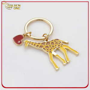 Customized Printed Sun&Beach Style Metal Keychain