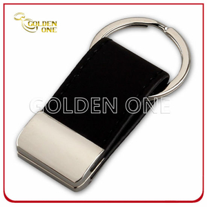Hot Sale Promotion Cheap Blank Leather Key Ring