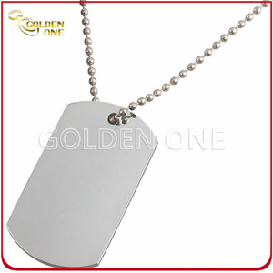 Hot Selling Chrome Plated Printable Metal Dog Tag