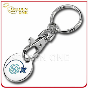 Wholesale Custom Supermarket Trolley Coin Key Chain