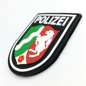 Personalized Brand Name Logo Rubberized PVC Patches