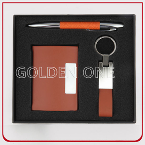 Luxury Pen & Keychain & Card Holder Gift Set
