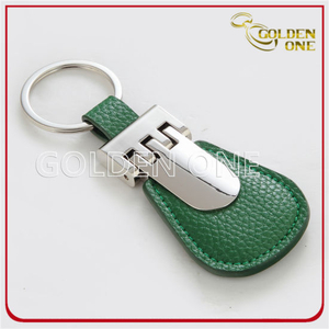 Hot Sales Wholesale Promotional Gift Leather Key Ring
