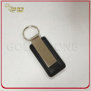 Factory Direct Sales Good Quality Blank Leather Key Chain