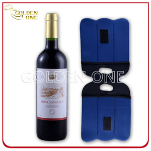 Insulated Custom Neoprene Two -Pack Wine Bottle Holder
