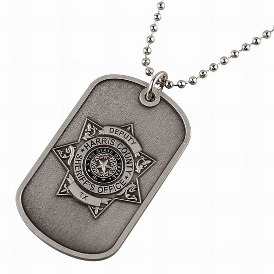 Personalized Die Cast Zinc Alloy Dog Tag (DT12)
