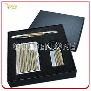 Promotional Metal Card Case and Keyring Business Gift