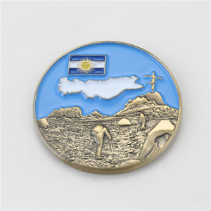 High Quality Custom Plated 3D Metal Challenge Coin
