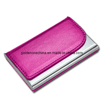 Business Gift Genuine Leather Business Card Holder