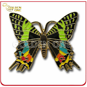 Customized Antique Plating Custom Metal Enamel Pin Badge