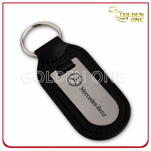 Good Quality Blank Leather Key Holder for Promotion Gift