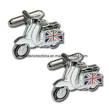 Custom Motorcycle Soft Enamel Cufflink (CL05)