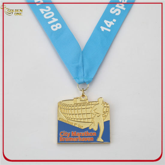 Hot Sales Cheap Gold Marathon Event Medal