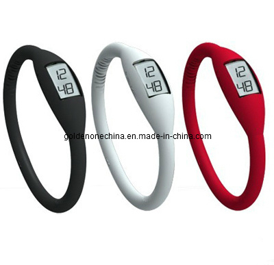 Promotion Gift Digital Sport Silicone Watch (SW01)