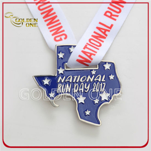 Customized Metal Sports Medal with Bottle Opener
