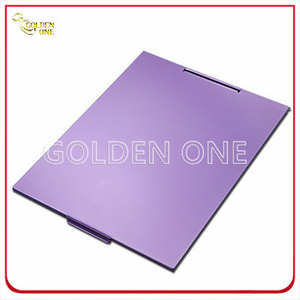 Fashion Design Colorful Square Aluminum Make up Mirror